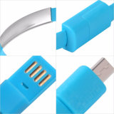 Wristband Micro USB Cable Bracelet Data Charging Line para Android e iPhone