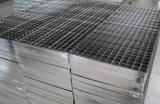 Grille ordinaire galvanisée d'étage en acier