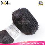 Extensión brasileña del pelo ondulado natural suave de colores naturales (QB-BVRH-LW)