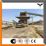 Cadena de producción machacante y que defiende de piedra