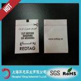 Tag macio do cetim de EAS, etiqueta macia EL005 de EAS RF