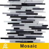벽 훈장 수평선 시리즈 (수평선 S B06/B07)를 위한 최신 판매 8mm 수평한 혼합 수정같은 유리 모자이크