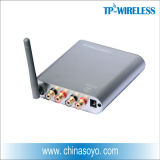 Amplificador de potência sem fio digital de 2,4 GHz para sistema de som surround sem fio