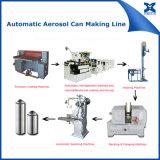 Tampão automático da lata de pulverizador do aerossol que emenda a máquina