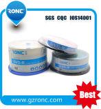 DVD-R 120min 4.7GB Ronc 상표 50PCS 수축 포장 공백 디스크