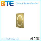 Golddekoration-Passagier-Aufzug HFR-1250kg mit Cer