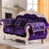 Mobilia del salone con il sofà di legno (929T)