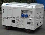 générateur 7kVA diesel silencieux refroidi par air pour l'Afrique du Sud