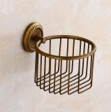 Штуцер ванной комнаты держателя туалетной бумаги ванны Flg античный латунный