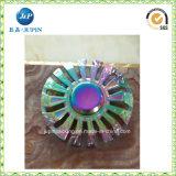 Girador do dedo do metal do girador da mão da cor do arco-íris (JP-FS015)