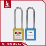 Bd-G26 alta calidad larga blanca de acero bloqueo de seguridad grillete