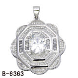 새로운 작풍 925 은 큰 크기 남자의 매력 다이아몬드 보석