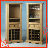 Suporte de frasco de madeira do vinho
