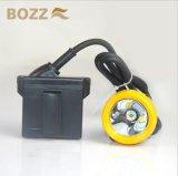 Bozz 3W米国のクリー族LEDの炭鉱ランプの安全灯のCaplamp (KL5LM (C))
