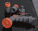 De Montage van de Slang van de Tuin van de Legering van het zink met de Schakelaar van de Slang, Adapter wordt geplaatst, Spuitpistool dat