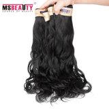 Cheveu brésilien de Vierge de prix bas de prolonge de cheveux humains de 100%
