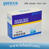 Kit de prueba de ozono para la prueba de tratamiento de agua potable (LH2001) con método Dpd