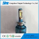 la lampe 20W principale automatique allume des phares de véhicule de 5000lm DEL H7