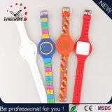 Relógio do diodo emissor de luz do bracelete do silicone de Digitas do pulso do esporte da forma da menina das senhoras das crianças dos homens