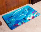 印刷の床のマットの珊瑚のフランネルのマット2304