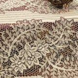 Французская химически домашняя ткань шнурка жаккарда тканья для повелительницы Одежды/платья