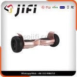 """Balanço elétrico Hoverboard do auto do """"trotinette"""" do retrocesso com diodo emissor de luz"""