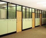 Divisória popular do escritório com única opção do vidro e da placa (SZ-WS686)