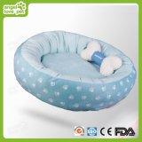 Samll 베개, 개 방석을%s 가진 편리한 면 발자국 애완 동물 침대