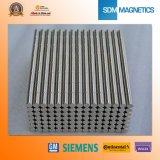 Aimants de détecteur de néodyme de N35h D6.35X6.35mm pour le commutateur