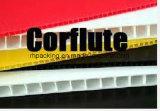 Blanc blanc solide 3.5mm 1500G/M2 4mm 850G/M2 Coroplast Correx Corflute de /Opaque