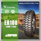 neumáticos del neumático TBR del descuento del neumático del carro ligero 385/65r22.5 con kilometraje largo