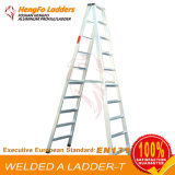 10steps de Ladder van het Lassen van de Ladder van het aluminium