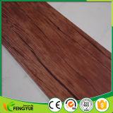 Carrelage de luxe de vinyle de PVC de configuration en bois imperméable à l'eau