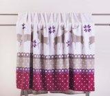 印刷された珊瑚の羊毛毛布-クリスマスのシカ
