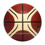 Kundenspezifischer Entwurfs-Firmenzeichen-Größe 7 PU-Basketball