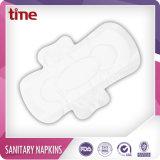 Almofadas sanitárias femininos de guardanapo sanitários do algodão do produto de higiene
