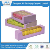 Cadre de empaquetage de Macaron d'emballage énorme de désert avec le plateau en plastique de garniture intérieure
