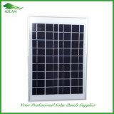 панель солнечных батарей 18V 20W поли PV для системы 12V (2017)