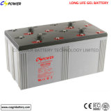 батарея геля глубокого цикла 2V1000ah свинцовокислотная солнечная