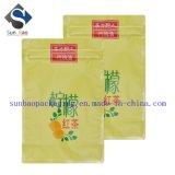 Nuevo bolso aluminizado del envasado de alimentos 8-Side del diseño sello que se puede volver a sellar