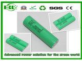 Batterij van het Lithium van Samsung 25r 2500mAh de Cilindrische met Volledige Bescherming voor Elektrische Motorfietsen