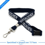 Flat polyester screen printed School Card Lanyard as poison