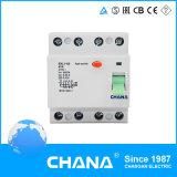 Электромагнитный 4p остаточный в настоящее время автомат защити цепи 500V 63A 50A RCCB