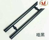 Чернота с Titanium ручкой двери брызга нержавеющей стали
