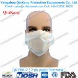 Medizinische WegwerfpapierGesichtsmaske des filter-1ply oder 2ply