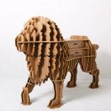 [مولتي-بوربوس] أطفال لعبة خشبيّة أسد ملك [دكرتيف] [فورنيتثر]