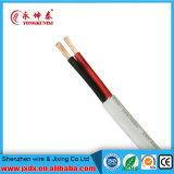 Cable de transmisión eléctrico del alambre del PVC de la base doble