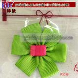 Producten de Van uitstekende kwaliteit van het Haar van de Garnituur van de Bloem DIY van het lint (P3035)