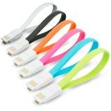 Кабель USB Micro цветастого перемещения магнита милого прочного портативного плоский