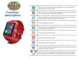 Reloj elegante androide de Bluetooth U8 con la cámara y la ranura para tarjeta de SIM